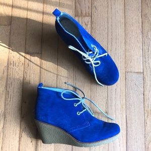 Sperry Wedge HOT!!!! 10M Blue New!